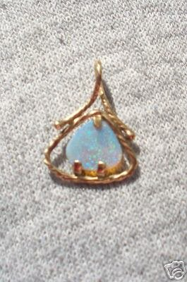 Awesome Crystal Opal Pendant Men or Ladies