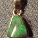Awesome 2 ct. Black Opal Pendant Men or Ladies