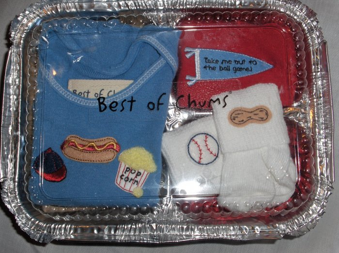 Best of Chums Boutique Ballgame set boy 12 mths new for sale