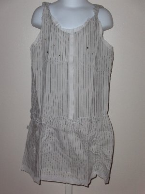 New Jean Bourget sleeveless striped tunic top girls size 8A/126
