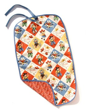 New Funkie baby Go Mat diaper change mat retro cowboys/cowgirls