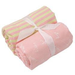 New Elegant Baby two pack girls burp cloths baby gift sweet
