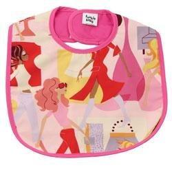 New Funkie baby  pink fashionista bib baby girl