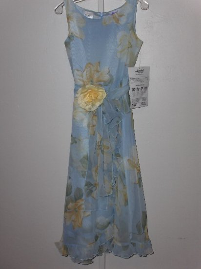 New blue magnolia girls dress size 10 from Storybook Heirlooms
