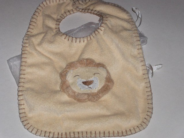 New Angel Dear by Fun Bath lion bib soft cute