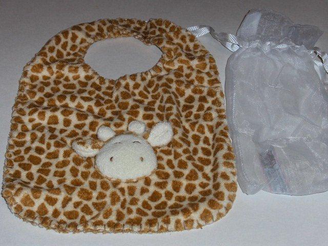 New Angel Dear by Fun Bath Giraffe bib soft cute