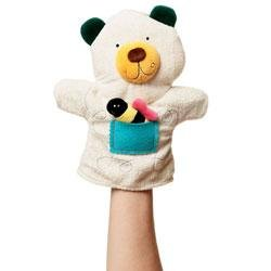 New Manhattan Toy Bear Puppettos hand puppet