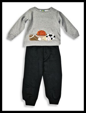 New Toddler boys Picture Me Sports top pants set size 4T