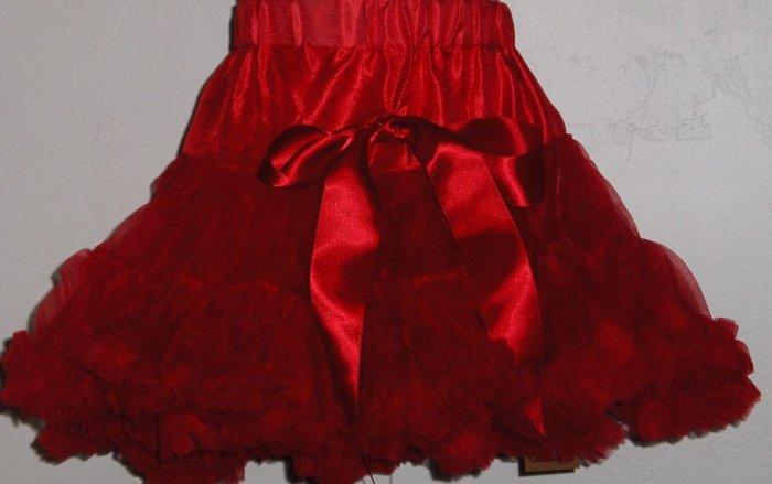 sale Red Pettiskirt KS1 girls age 4-5 years size 110