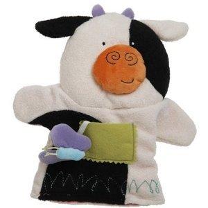 New Manhattan Toy Cow Puppettos hand puppet