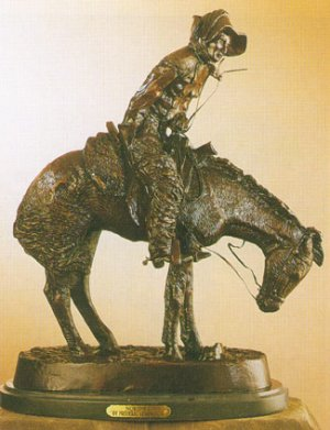 Norther by Frederic Remington