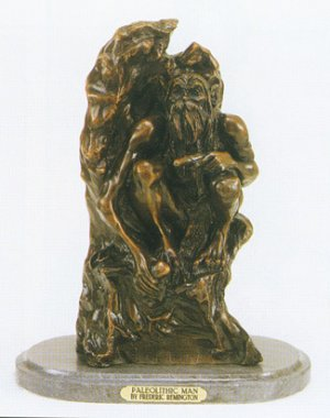 Paleolithic Man by Frederic Remington
