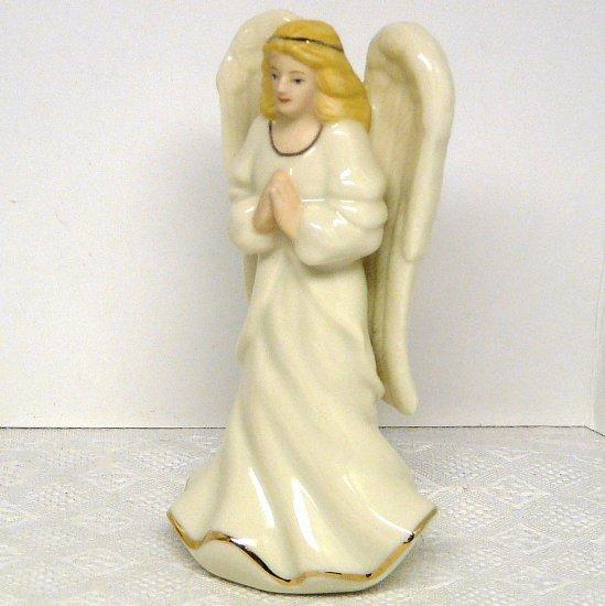 "Lenox Angel Figurine Blonde Praying 3-3/4"" tall"