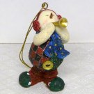 Coyne's & Company Mother Brown's Christmas ornament country snowman with horn 1999 MB1904