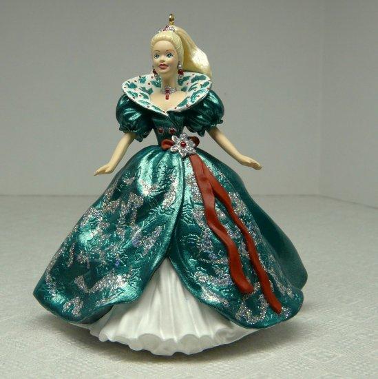 Hallmark Keepsake Christmas ornament Holiday Barbie Third in the Series 1995