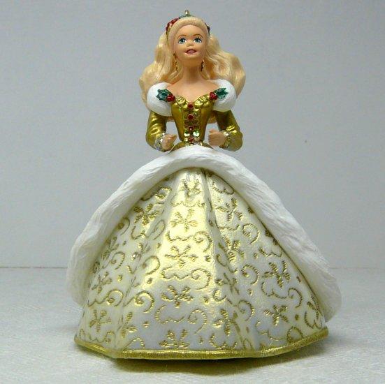 Hallmark Keepsake Christmas ornament Holiday Barbie Second in the Series 1994