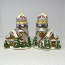 Christmas Lighthouse Salt and Pepper Set