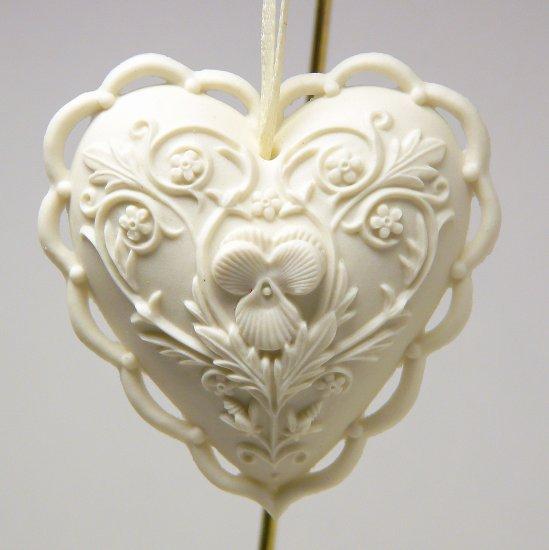 Margaret Furlong Christmas Ornament From the Heart 1997 ornate