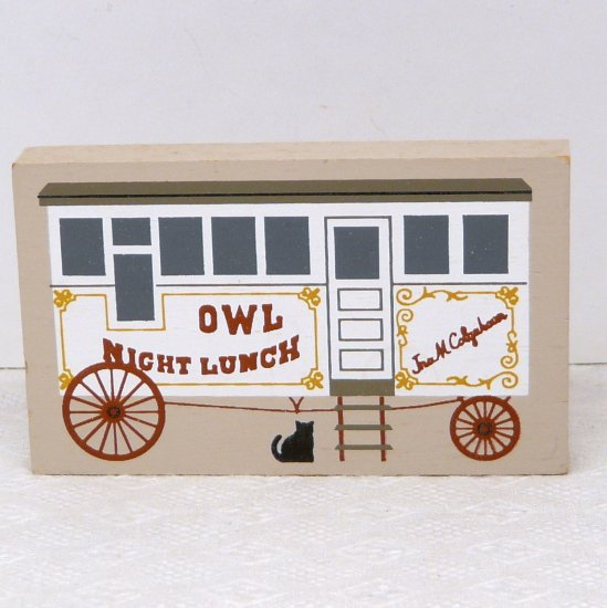 The Cat's Meow Accessory Night Owl Lunch Wagon
