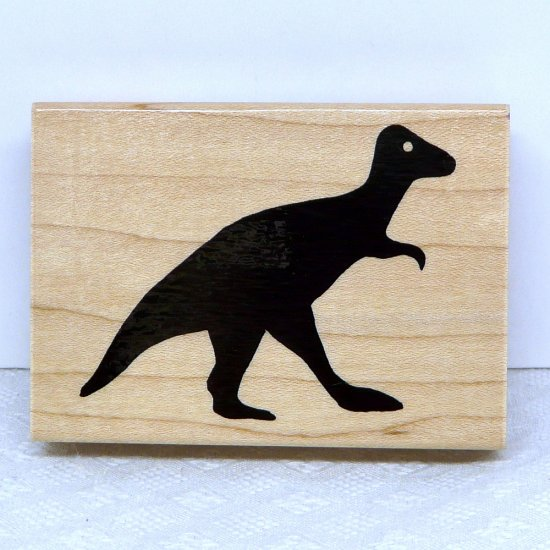 JRL Design Rubber Stamp large Dinosaur A