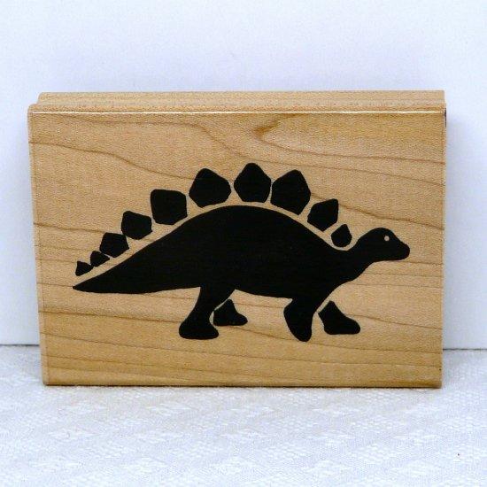 JRL Design Rubber Stamp large Dinosaur C