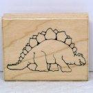 JRL Design Rubber Stamp Dinosaur D