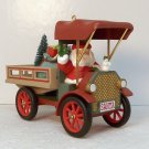 Hallmark Christmas ornament Happy Haul-idays number 15 in Here Comes Santa Collection Truck 1993