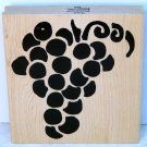 Hot Potatoes Rubber Stamp Grapes large W111
