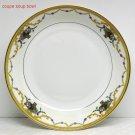 Vtg soup bowl Royal Bayreuth ROB16 pattern porcelain coupe Bavaria