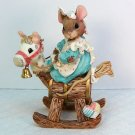Enesco Mouse Tales I Had a Little Hobby Horse Priscilla Hillman 160679 1995 box