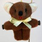 Christmas ornament Koala Bear faux fur