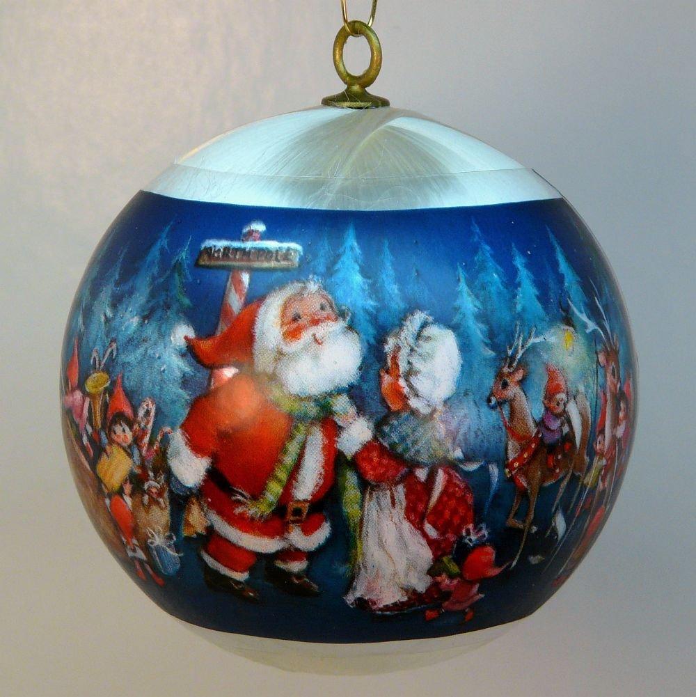 Vintage Religious Christmas Ornament: Vintage Hallmark Christmas Ornament 1981 Santa's Coming