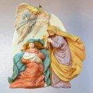 Hallmark Christmas ornament Rejoice Nativity 1995 A Child is Born, The World Rejoices