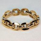 Avon bracelet gold tone chunky link