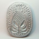 vintage reproduction metal cookie mold pineapple aluminum
