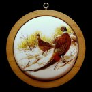 vtg Hallmark ornament Ringed necked Pheasant 1984 QX3474 Christmas Wildlife Collection 3rd in series