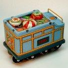 Hallmark Christmas Ornament tin train Yuletide Central 2 tender QX5079 no box