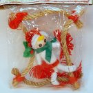 vintage pixie Liberty Bell Christmas ornament in package