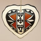 vintage Native American ornament pendant signed by Joyce Vallo Acoma NM