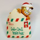 Vintage Garfield ornament Special Delivery 1981 Enesco letter to Santa