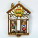 vtg Hallmark Weather House no box Christmas Ornament 1977 Twirl About