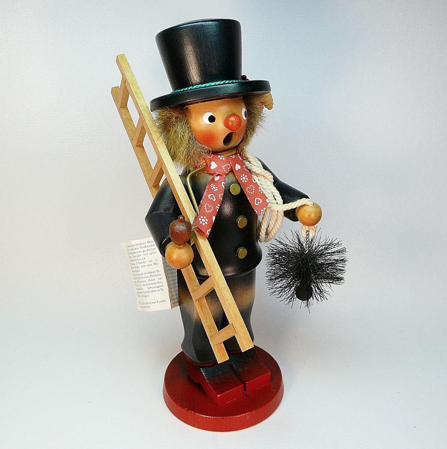 vtg Christian Ulbricht smoker chimney sweep incense burner Christmas