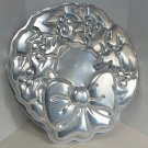Vintage Wilton Cake Pan Holly Wreath 502-1484 from 1980