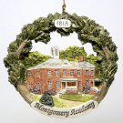Christmas ornament Montgomery Academy NY Made by Hestia in 1996 Landscape Building