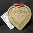 Brown Bag cookie mold Strawberry Heart 1990