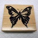 Majestic Butterfly Rubber Stamp JRL Design
