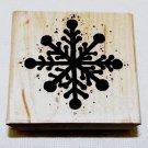 Big Snowflake Rubber Stamp JRL Design