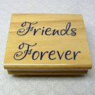 Rubber Stamp Friends Forever