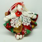 Rabbit ballerina Christmas ornament