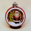 Color change Santa Christmas ornament